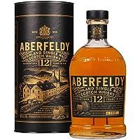 Aberfeldy Scotch Whisky Single Malt 12 Anni, The Golden Dram, Gusto Morbido, Intenso e Persistente, con Note di Miele…