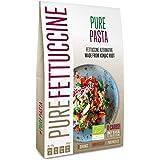 PurePasta Konjak Spaghetti-Fettuccine-Nudlar-Ris utan gluten 10-pack 200 gram (Fettuccine)