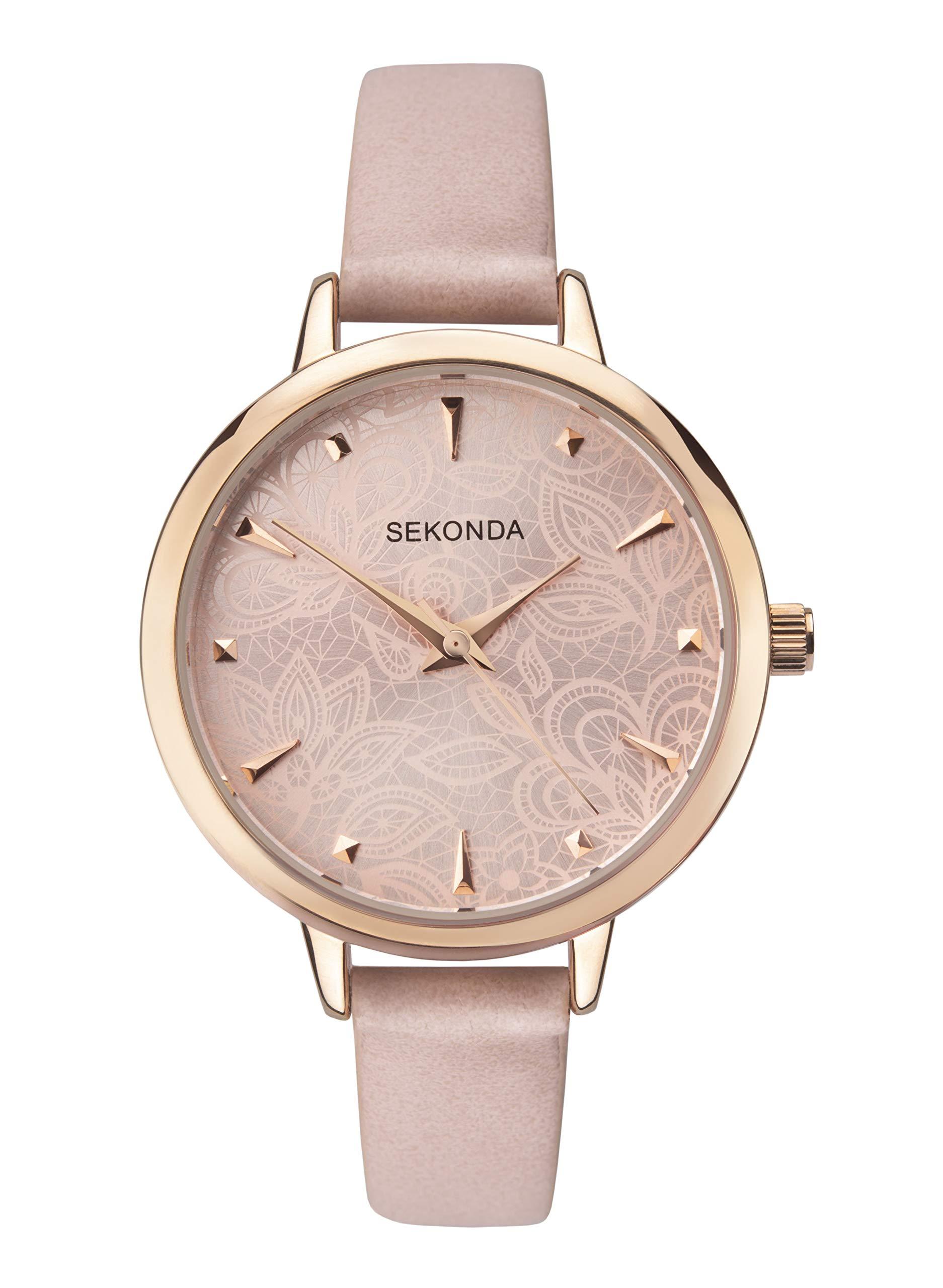 e4564f21929b0 Sekonda Watches Womens Analogue Classic Quartz Watch with PU Strap ...