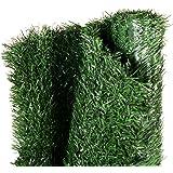 Gardenode Haie Artificielle Thin en Rouleau de 3 mètres - H 1m50-90 brins