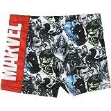 CERDÁ LIFE'S LITTLE MOMENTS Boxers Bañador Natacion Niño de Los Vengadores-Hulk, Capitan America, Thor, Iron Man-Licencia Ofi