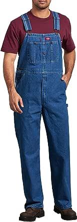 Dickies Men's 8396snb Denim Bib Overall