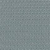 Tissu de coton imprimé | Asanoha tissu japonais | blanc et gris anthracite sur fond...