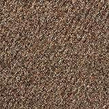 Kunstrasen Rasenteppich mit Noppen | Höhe ca. 10,3mm | 133, 200 und 400 cm Breite | braun beige | Meterware, verschiedene Größen | Größe: 6 x 4 m