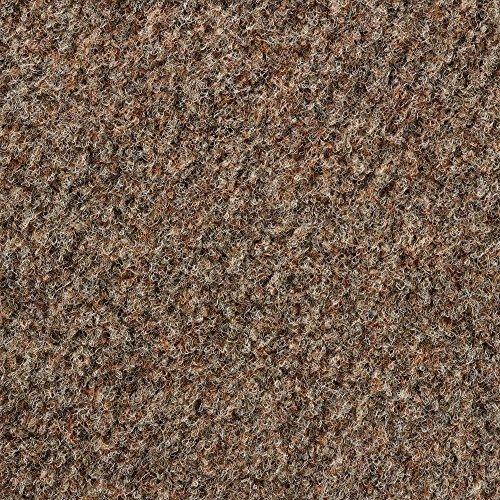 Kunstrasen Rasenteppich mit Noppen | Höhe ca. 10,3mm | 133, 200 und 400 cm Breite | braun beige | Meterware, verschiedene Größen | Größe: 6 x 1,33 m