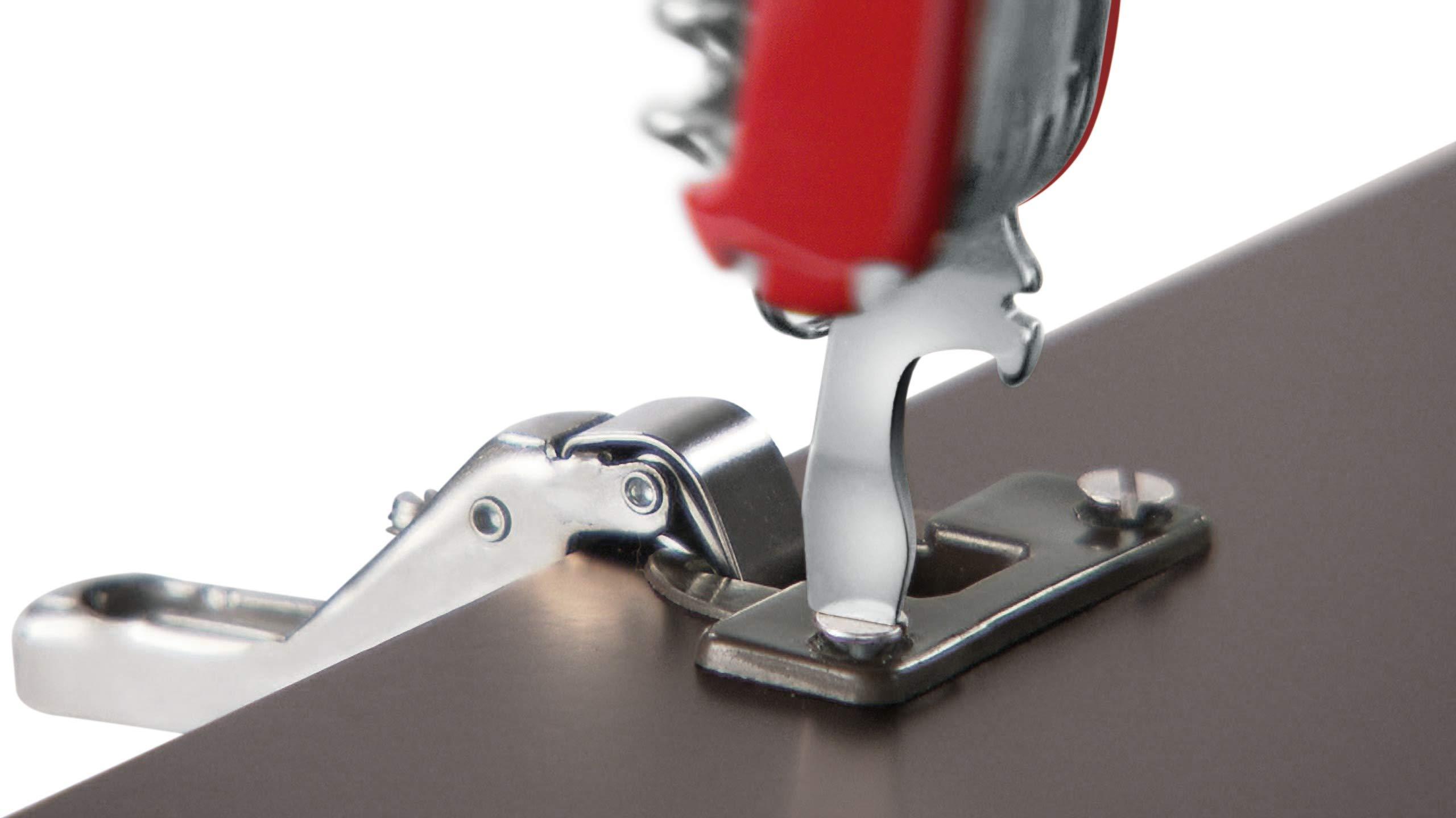 Victorinox Handyman Swiss Army Pocket Knife, Medium, Multi Tool, 24 Functions, Large Blade, Metal Saw, Red 6