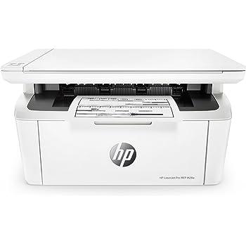 HP LaserJet Pro M28a Stampante Multifunzione, fino a 18 ppm, Bianco e Nero, Copia, Scansione, Colore: Bianco