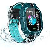 Smartwatch för barn, OURLITIME smartklocka för barn, SOS samtalsmätare anti-förlorade pojkar flickor armbandsur positionering