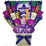 Yankee Candle Bouquet Gift Hamper with Cadbury Chocolates & Floral Display in Presentation Box