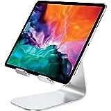 Bovon Supporto Tablet, Porta Cellulare da Tavolo, 270° Ruotabile Dock Ricarica Desktop Compatibile con iPad PRO 9.7/10.2/10.5