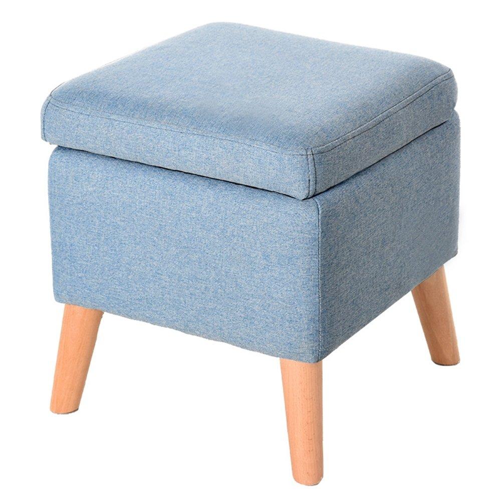 So Senden Hocker Massivholz Fr Schuhhocker Wohnzimmer Stauraum Einfacher Quadratischer Kreatives Tuch Sofa 5 Farben Vorhanden Lagerhocker