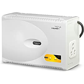 V Guard VM 500 Voltage Stabilizer for Washing Machine, Microwave Oven, Treadmill  Grey