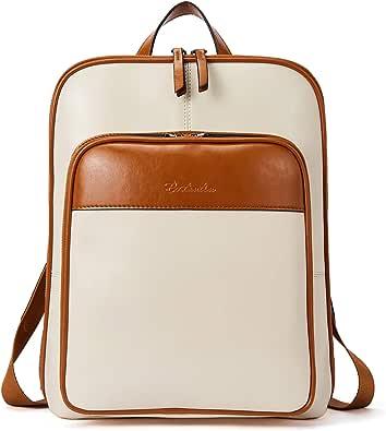 BOSTANTEN Leder Rucksack Damen Schulrucksack Reiserucksack Tagesrucksack Casual Backpack Daypacks