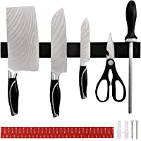 SaiXuan Porte Couteau Magnetique,40cm Barre à Couteaux Aimantée, Porte-Couteaux en Acier Inoxydable,Assemblage Facile…