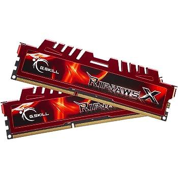 G.Skill F3-12800CL9D-8GBXL 8GB (4GBx2) DDR3 SDRAM 1600MHz Dual Channel Kit Desktop Memory