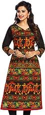 Jevi Prints Women's Unstitched Kurti Material