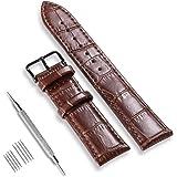 CIVO Cinturino Orologio 16mm 18mm 19mm 20mm 22mm 24mm Cinturini in Pelle per Uomo e Donne