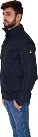 giacca in piuma kelvin uomo ciesse piumini blu scuro