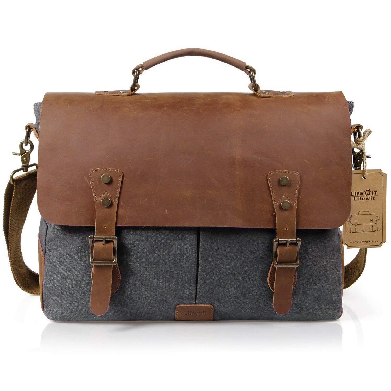 Los hombres de la marca maletín bolsa bolso de mensajero