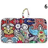 Zoeyeahi Newborn Nappy Diaper Play Changing Mat Portable Foldable Washable for Travel
