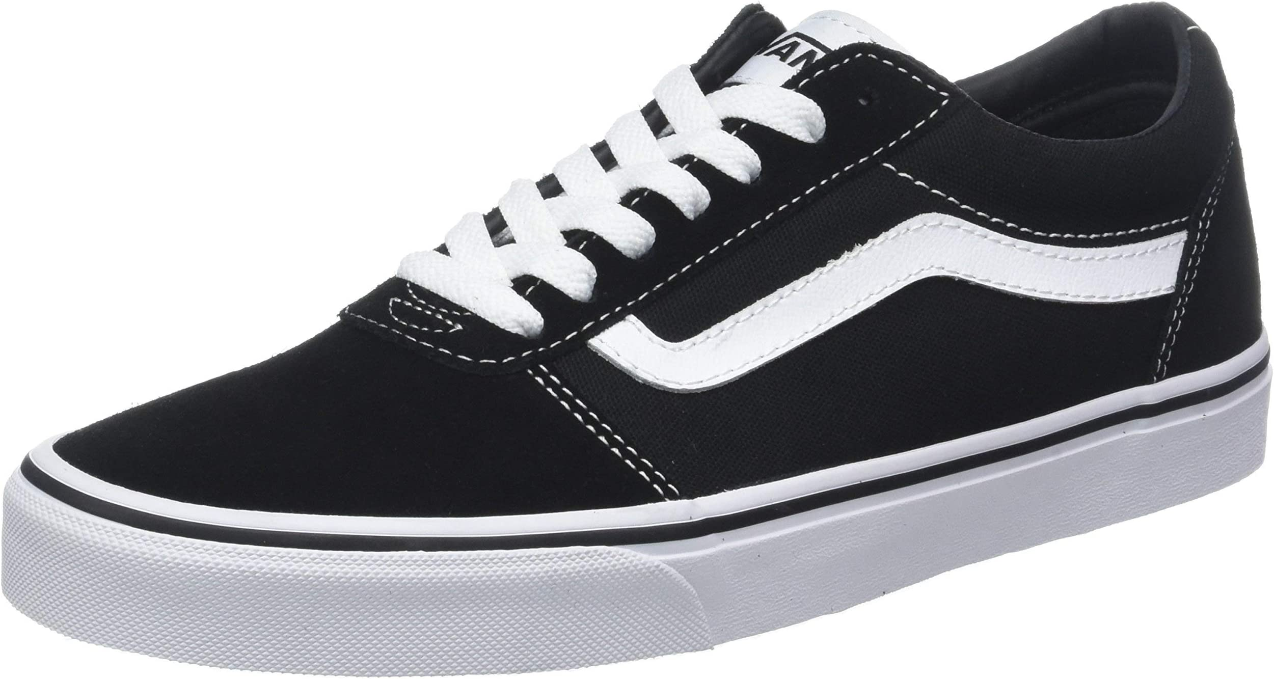 damensneaker einkaufen auf amazon fashion  vans damen ward suede canvas sneakers