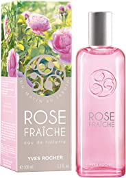 Yves Rocher Edt Un Matin Au Jardin Fresh Rose Bottle, 100ml