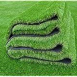 Kuber Industries High Density Artificial Grass Carpet Mat for Balcony, Lawn, Door(3.3 x 8 Feet)
