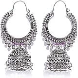 YouBella Earrings for Women Stylish Jewellery Earrings Afghani Kashmiri Jhumka earrings Fancy Party wear ear rings for Girls