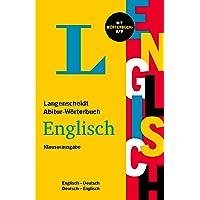 Langenscheidt Abitur-Wörterbuch Englisch: Englisch-Deutsch / Deutsch-Englisch - mit Wörterbuch-App