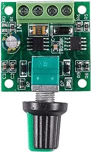 Motor Drehzahlsteller Sodial R Dc 1 8v 3v 5v 6v 12v 2a Motor Drehzahlsteller Regler Kontroller 30w Pwm 1803b K7 Baumarkt