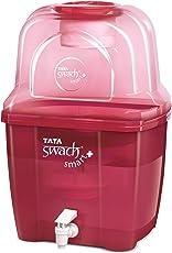 Tata Swach Smart + 15-Litre Gravity Based Water Purifier (Cartridge Capacity - 3000 Ltrs)