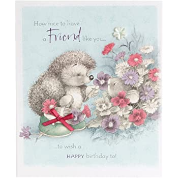 Hallmark Birthday Card For Friend Friendship