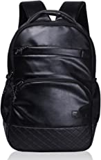 F Gear Luxur Black 25 liter Laptop Backpack