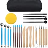 Viesap 25 Pcs Outil Modelage Clay Sculpting Tools Outil Modelage Argile Outil Sculpture Modelage Outil Modelage Silicone, Out