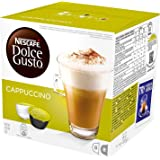 NESCAFE DOLCE GUSTO cappuccino-koffiepads, 16 capsules (verpakking van 6 - totaal 96 capsules)