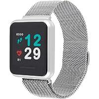 X-WATCH 54043 Keto - Smart Watch e Fitness Tracker, con cardiofrequenzimetro, impermeabilità IP68, Durata Batteria Fino…