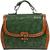 9 Colours Banned Buckle With Bow Retro Handbag