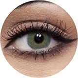 Anesthesia USA Chicago Green Unisex Contact Lenses, Anesthesia Cosmetic Contact Lenses, 6 Months Disposable - USA Chicago Gre