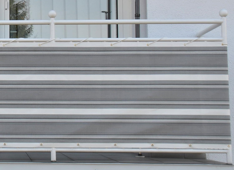 Amazon Angerer Balkonbespannung Dralon Nr 8600 Beige Creme