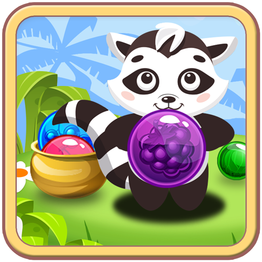 Shoot Bubbles - Free Pop and Blast Match 3 Game (Farm Animal Gummies)