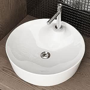 Waschbecken24 Design Keramik AUFSATZWASCHBECKEN WASCHTISCH