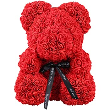 Home & Garden Gift Bags & Wrapping Supplies Special Section Pe Artificial Rose Wedding Decorations Girlfriend Lovely Birthday Toy Gift Rose Dog Romantic Simulated Dog Dolls The Latest Fashion
