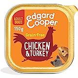 Edgard & Cooper Comida Humeda Cachorros Perros Junior Natural Sin Cereales, Latas 11x150g Pato y Pollo Frescos, Fácil de dige