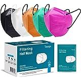 Tayogo Masker FFP2 10/20/50 Stuks CE-Gecertificeerd Mondmasker met 5-laags Filtersysteem Beschermmasker- Stofveiligheidsmaske