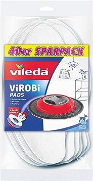 Vileda Virobi Slim vervangende stofpad voor gebruik met Virobi stofwirobot