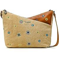 Desigual Fabric Across Body Bag, Donna, Taglia Unica