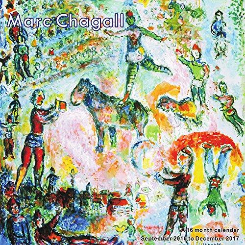 Marc Chagall Calendario 2017