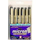 Sakura Pigma Micron Pen set of 6 pens -005,01,02,03,04,05