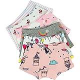 Kidear Serie para niños de Ropa interior - Bragas cortas de algodón para niñas