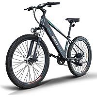 ESKUTE E-Bike E Mountainbike 27,5 Zoll Pedelec,Voyager' Elektrofahrrad mit 48V 10Ah versteckte Lithium-Akku 250W…